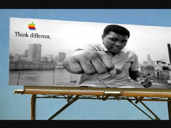 Think Different với Muhammed Ali.