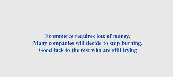Làm thương mại điện tử cần rất nhiều tiền ?